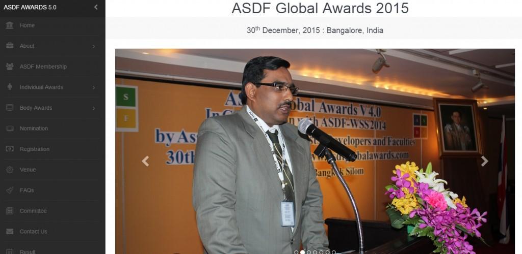 ASDF Awards v5.0