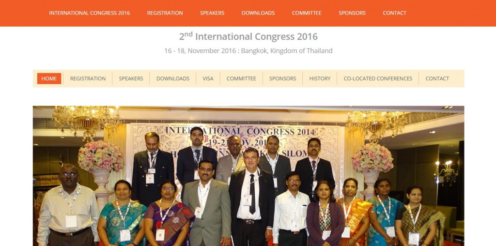 International Congress 2016