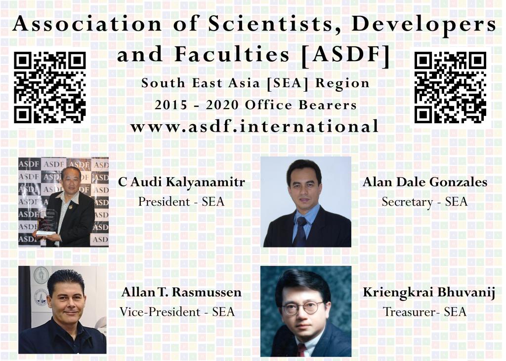 ASDF SEA Region 2015 - 2020