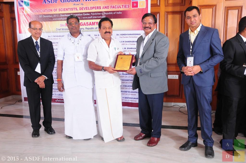 Gunasekaran Senkodan @ GA 2015