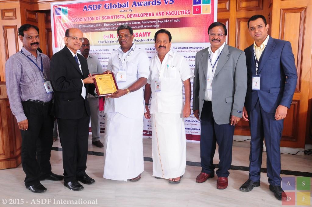 Subramaniam Ganesan @ ASDF GA 2015
