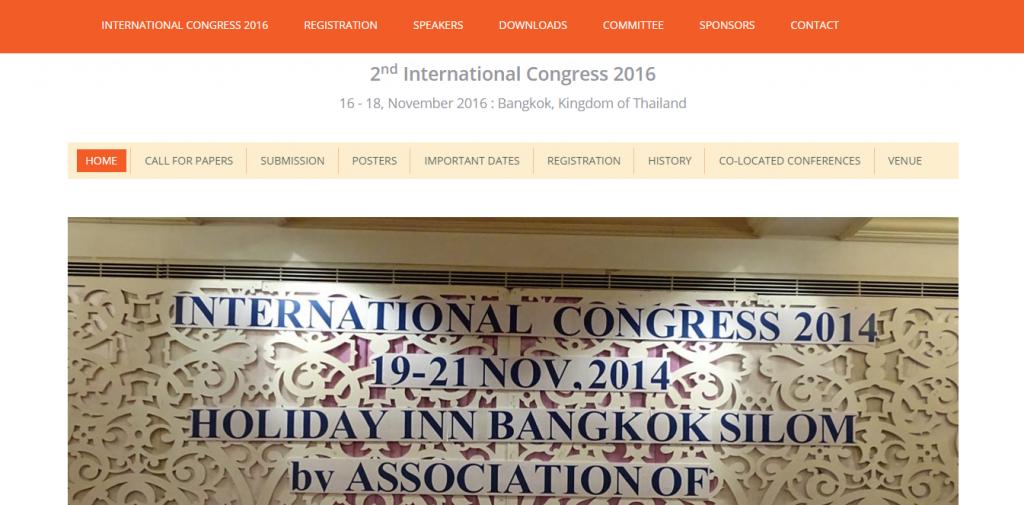 International Congress 2016