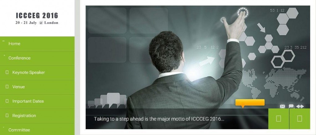 ICCCEG 2016