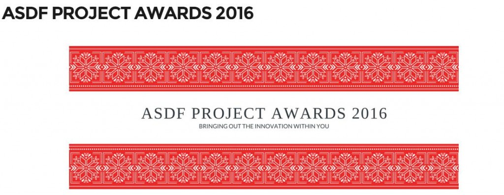 ASDF Project Awards