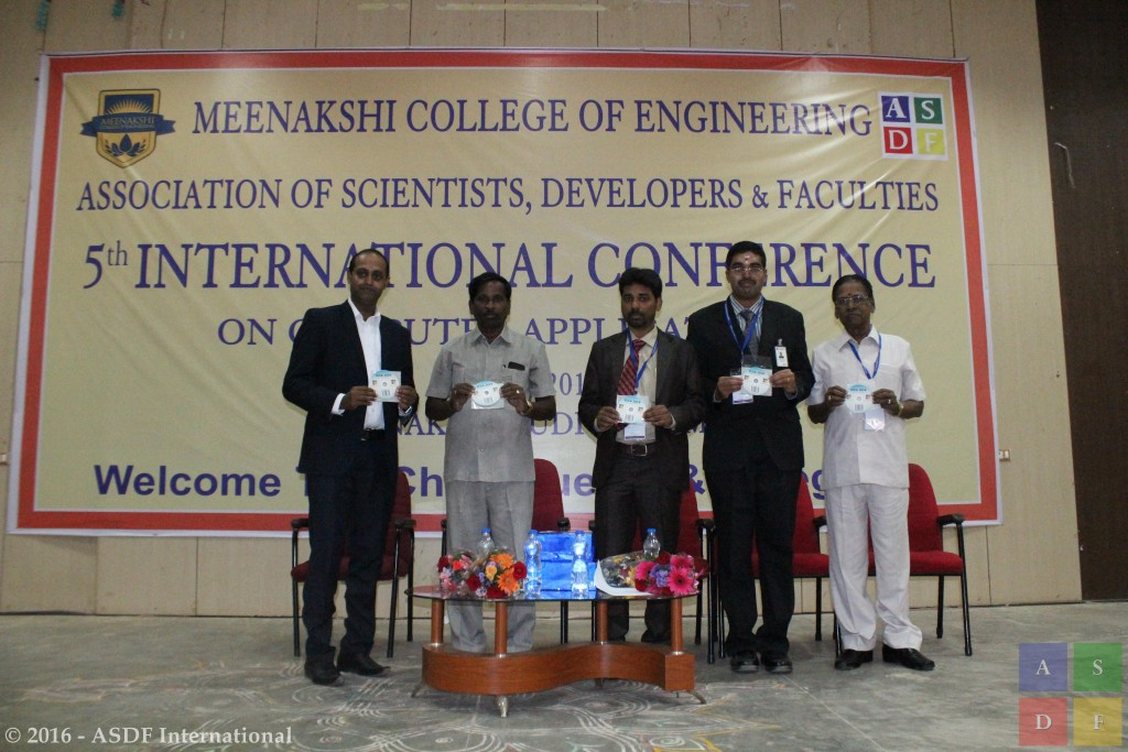 ASDF ICCA 2016 Meenakshi College of Engineering
