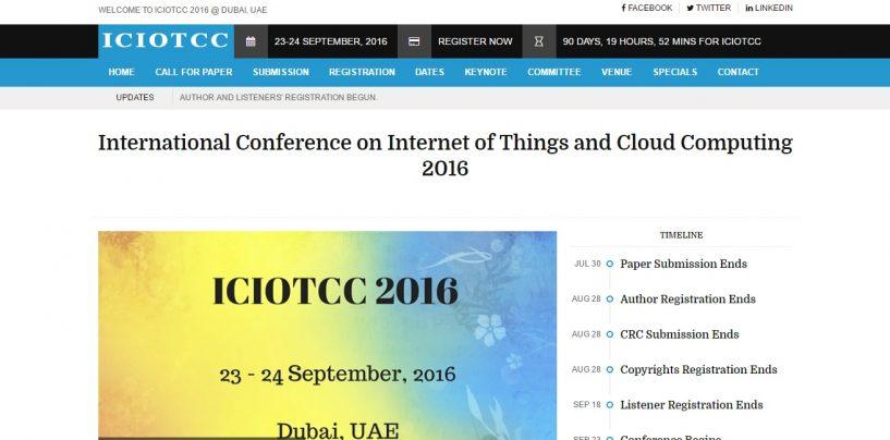 ICIOTCC 2016
