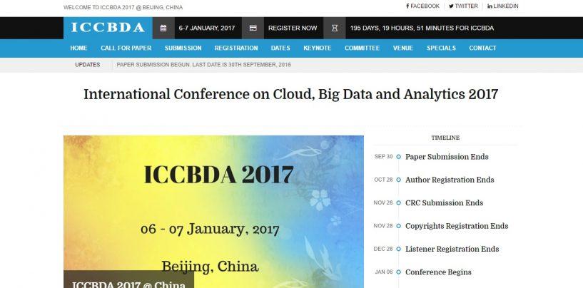 ICCBDA 2017