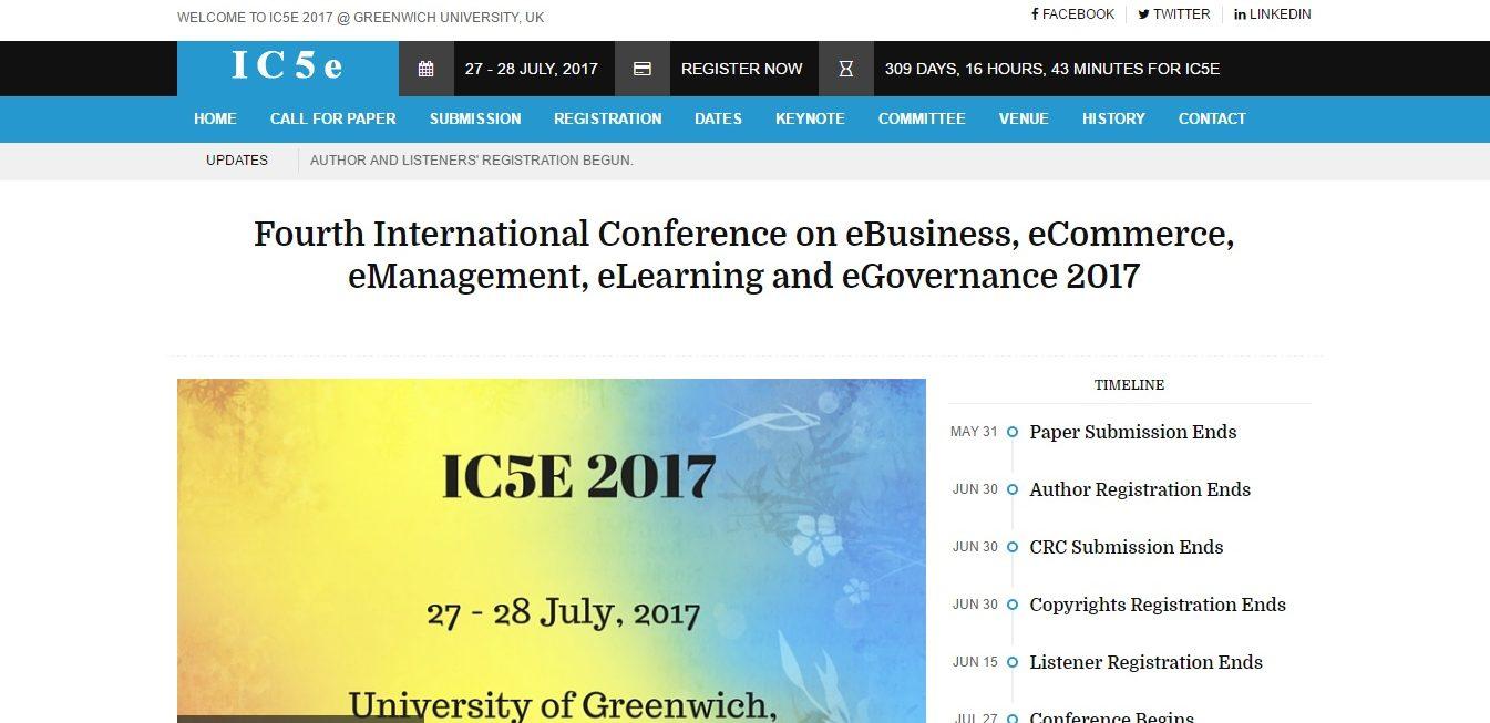 IC5E 2017