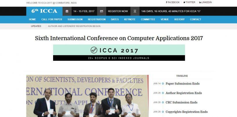 ICCA 2017