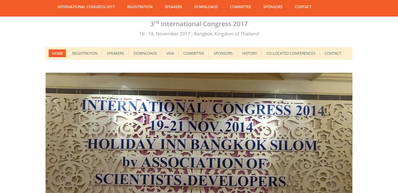 International Congress 2017
