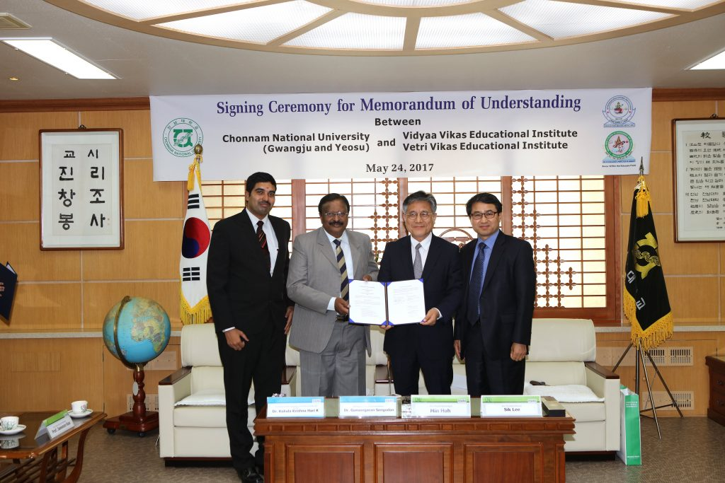 ASDF MOU with Korean University