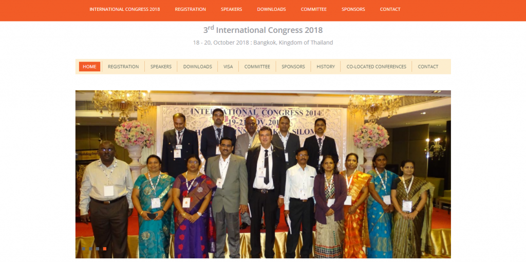 International Congress 2018