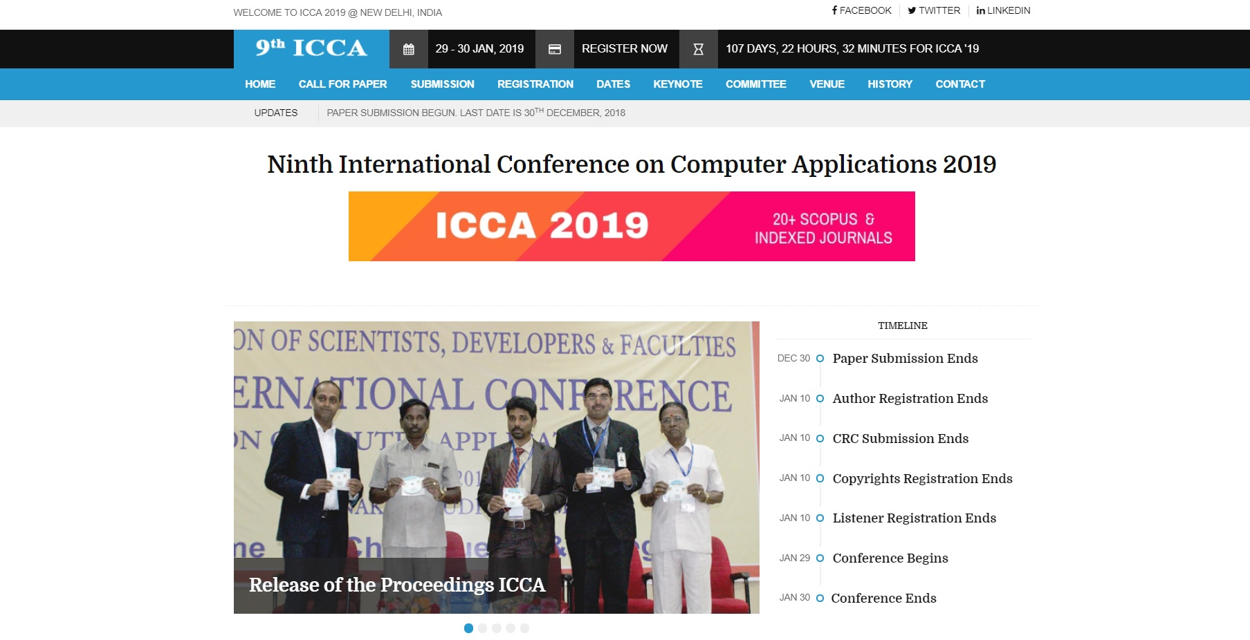 ICCA 2019 | ASDF