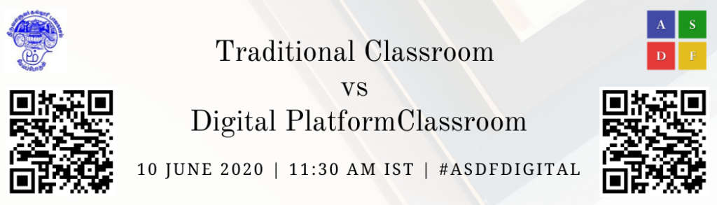 Digital Platform Classroom by ASDF Intl on 10 June 2020