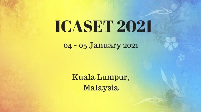 ICASET 2021