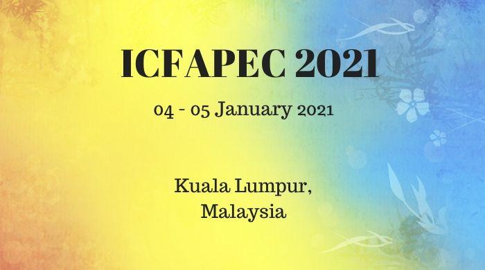 ICFAPEC 2021