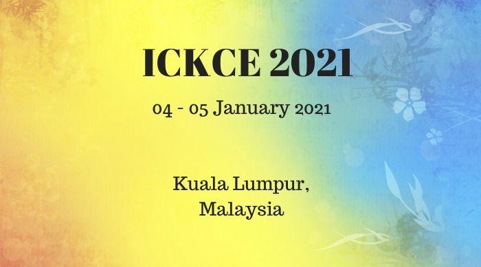 ICKCE 2021
